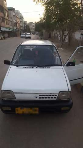 Mehran Vx car 1992 Model with cng kit
