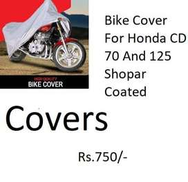 Bike Cover For Honda CD 70 And 125 Shopar Coated