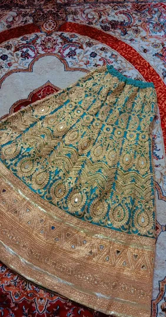 Mirror work Indian lehnga 0