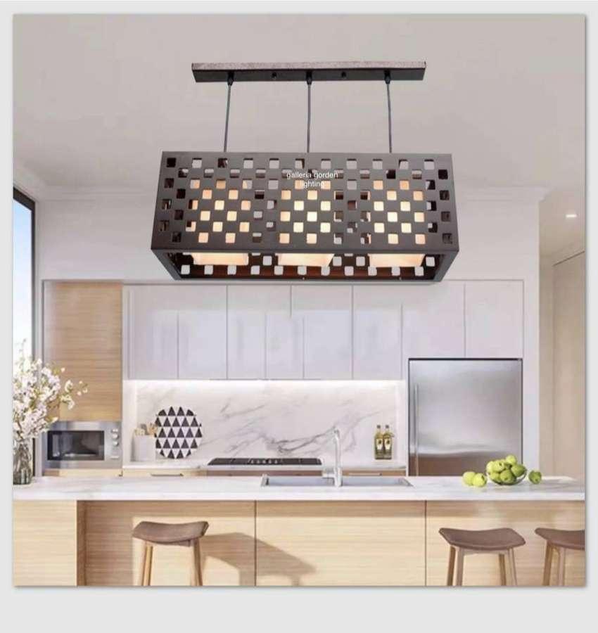 Lampu hias gantung dekorasi meja makan minimalis 4148/3  ID82 0