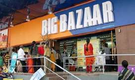 BIG BAZAAR hiring male and female candidates- Call NOW-Limited vacancy