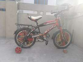 A bicycle for kids 3 to 7 years