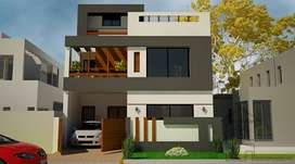 Available 130 sq yd, 4Bedroom, 4Bathroom,Corner,Double Storey House fo