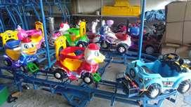 ODONG kereta mainan mini meja pasir kinetik DAP