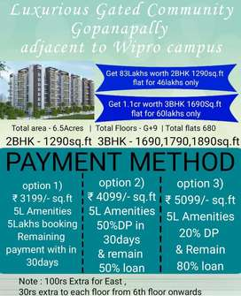 Luxury Gated Community Flats @ Wipro Campus