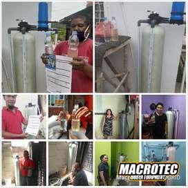 Filter penjernih air sumur