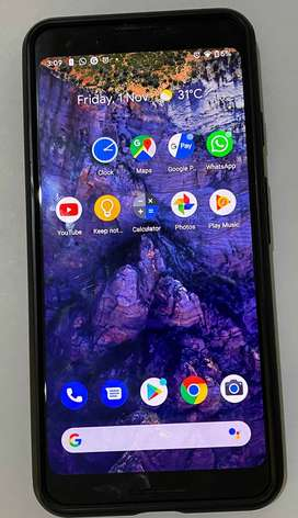 Google Pixel 3 128 GB Just Black - Excellent Condition- Under Warranty