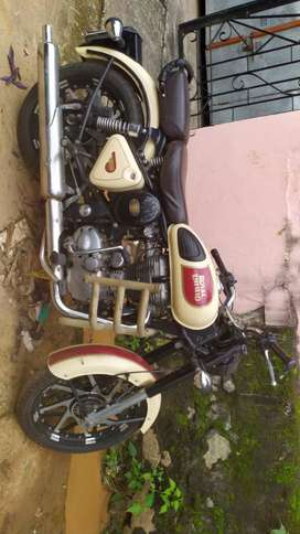 500 cc bike in very good condition