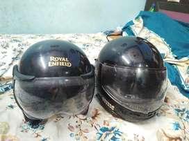 Royal endfield nd studds helmet