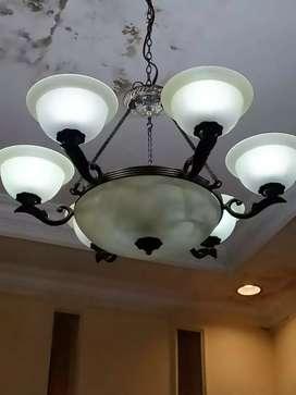 Lampu gantung lampu hias