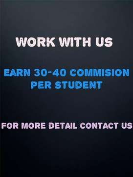 Commission based earning