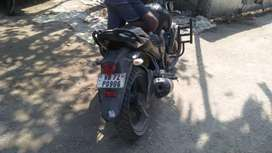 Four years old bajaj fz in super condation