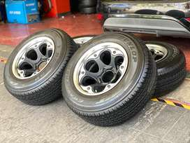 Lenso Bullets Thailand Ring 17 Pajero Fortuner