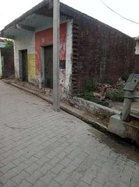 Two shop reddy one shop ground. Nagar panchayat maswasi. aliganj road