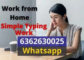 Earn monthly Rs.30,000 from offline typing work. Anyone can join.