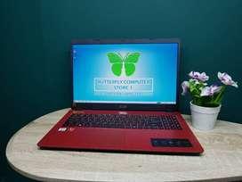 Laptop Premium Acer A315 AMD Athlon SSD 256GB Fullhd No-Minus Ngebutt