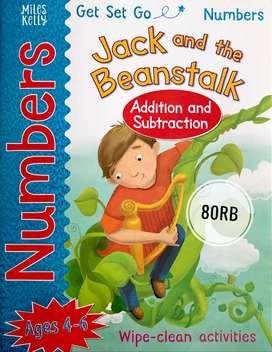 Jual Buku Import Anak 4-6 tahun Cerita Jack and The Beanstalk