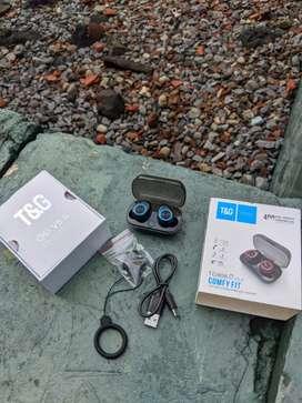 TWS Earphone Headset Bluetooth 5.0 TWS TG 906 Original bs byar dtmpt