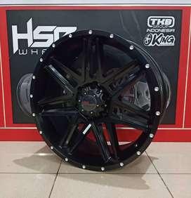 Cicilan velg import BULL JT1062 HSR R20X9 H6X139,7 ET20 SMB