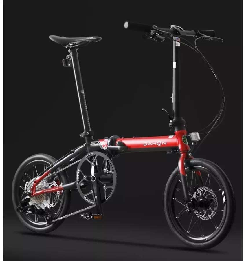 "DAHON K3 Plus 16""  Sepeda Lipat Original Import 0"