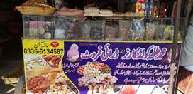 cold corner and dry fruits karyana shop for sale