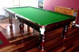 Snooker Table 10*5 available in Imported and Antique Design.