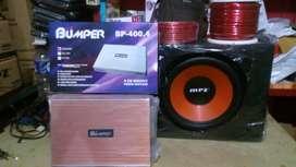 Paket; Power 4 Chnl+Subwoofer 12 inchi+Box sub+Instalasi+psng