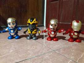 hero dance (iron man, bumblebee)