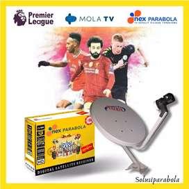 Antena parabola live liga inggris, liga champion