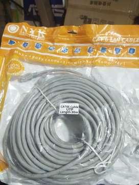 Kabel LAN jadi cat 6 YNK 30 Meter