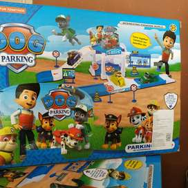 paw patrol dog parking