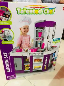 I have a new Chef Kitchen Set. Anyone interested in buying it.