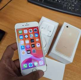 Iphone 7 128GB Gold lengkap