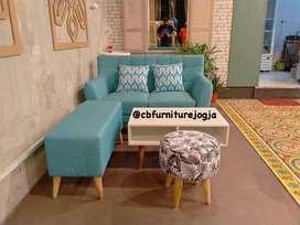 sofa tamu set, harga Murah, pilihan warna banyak