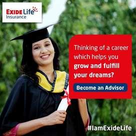 Insurance advisor job in Exide life Insurance