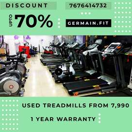 USED MOTORISED TREADMILLs 7,990 onward 1 YEAR WARRANTY 20 Models ONE M