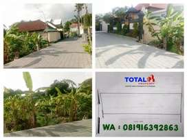 Tanah kawasan villa di Sanur, Denpasar, akses paving