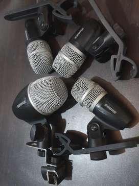 Shure microphone drum / mic drum