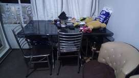Used 6chair table