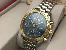 ORIGINAL Omega Speedmaster Automatic Chronograph Triple Date 39mm