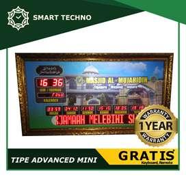Sedia Jam Digital Waktu Sholat Untuk Masjid Masjid Di Kota Bogor