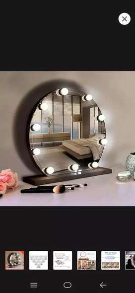 D jual cepat vanity mirror lampu aja ya (lmpu rias untk kaca makeup)