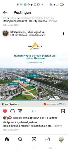Apartemen Urban Signature LRT ciracas Adhi Karya BUMN