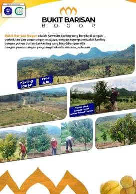 Dijual Tanah Kavling Kebun Produktif Bukit Barisan Bogor
