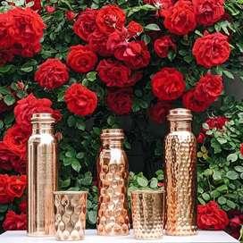 Copper water bottles for sale