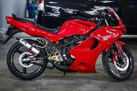 Jual santai ninja zx 150 /ninja rr  2006 merah