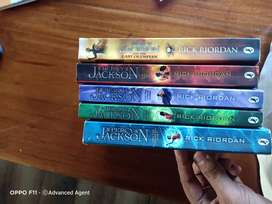Percy Jackson complete series