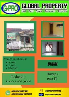 Dijual Rumah Murah Jalan Jondul Pekanbaru