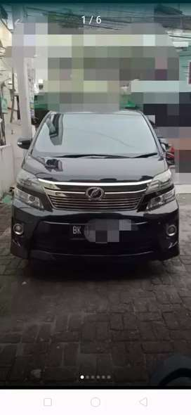 Toyota alphard vellfire z