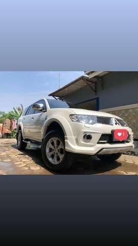 Pajero Dakar Limited 4x2 Tahun 2013 Diesel Matic Putih Istimewa